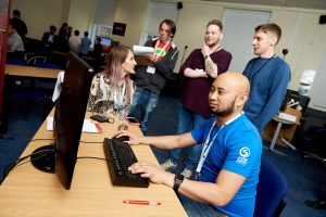 Gaming Conference at Uni. of Leeds. 8th June 2017. © Victor De Jesus